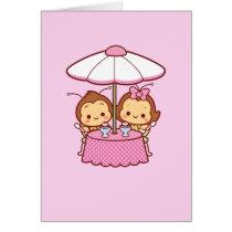 Hana & Hachi - Ice Cream Card