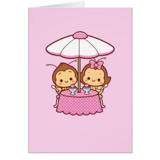 Hana & Hachi - Ice Cream Greeting Card