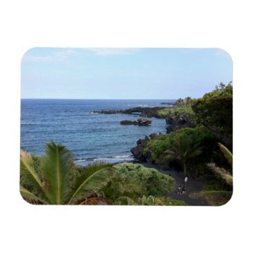 Hana Highway Beach, Maui, Hawaii Magnet