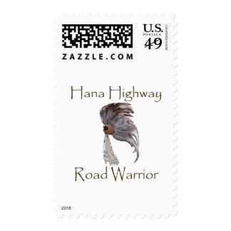 Hana Highway Road Warrior Vertical Postage