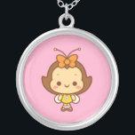 """Hana Necklace<br><div class=""""desc"""">Little Hana on a little necklace.</div>"""