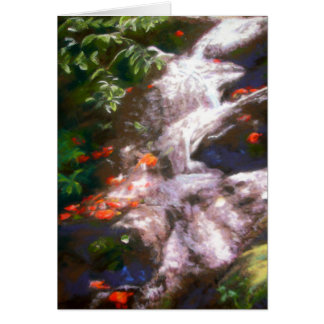 Hana Waterfall Card