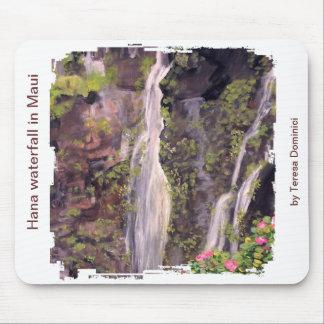 Hana waterfall in Maui Mousepad