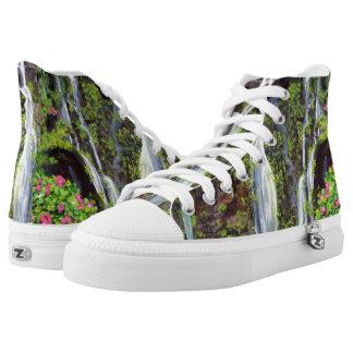 Hana Waterfalls - Printed Shoes