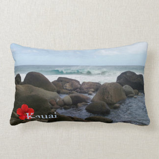 Hanakapi' ai Beach Lumbar Pillow