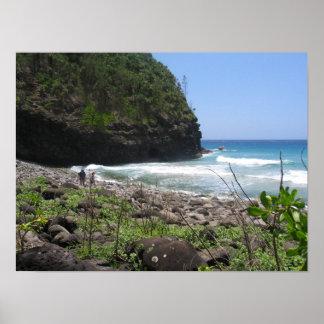 Hanakapi'ai Beach Print