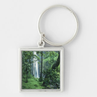 Hanakapiai Falls along the Na Pali Coast, Kauai, Keychain