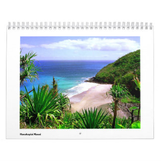 Hanakapiai Valley Calendar