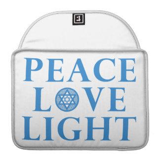 Hanakkah - luz del amor de la paz fundas para macbook pro