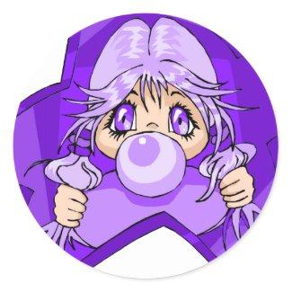 Hanako sticker