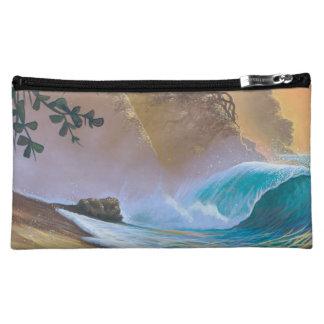 Hanalei Bay Beach Surf Makeup Bag