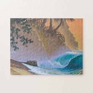 Hanalei Bay Beach Surf Puzzle