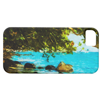 Hanalei Bay Kauai Hawaii Abstract iPhone SE/5/5s Case
