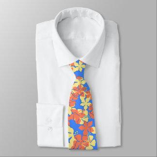 Hanalei Hawaiian Hibiscus Camo Special Cut'nSewn Tie