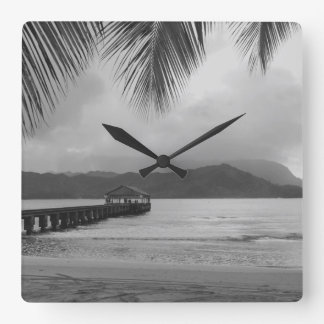 Hanalei - Kauai, Hawaii - Clock Design