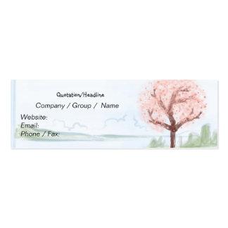 Hanami Skinny Business Card