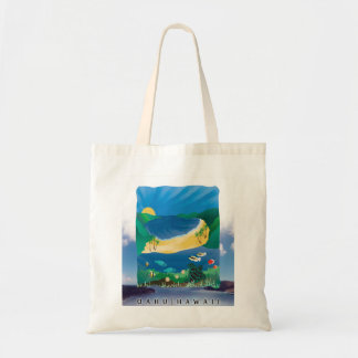Hananuma Bay Beach Bagi Tote Bag