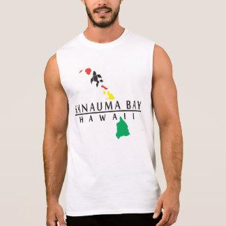 Hanauma Bay and Hawaiian Islands Sleeveless Shirt