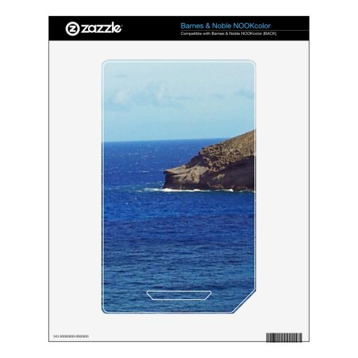 Hanauma Bay - Baboon's Nose Decals For The NOOK Color