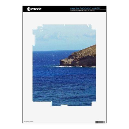 Hanauma Bay - Baboon's Nose iPad 3 Skin