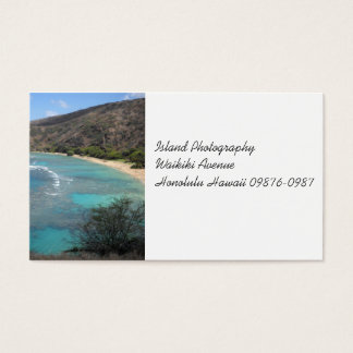 Hanauma Bay Cliff Business Card