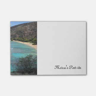 Hanauma Bay Cliff Post-it Notes