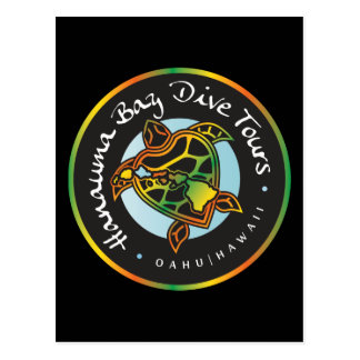 Hanauma Bay Dive Tours - Hawaii Post Card