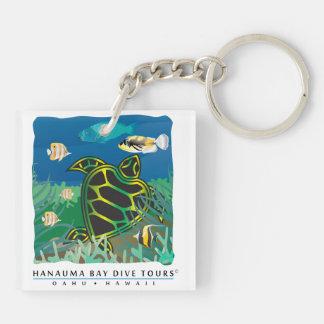 Hanauma Bay Dive Tours Keychain