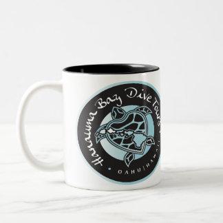 Hanauma Bay Dive Tours Logo Two-Tone Coffee Mug