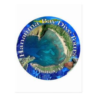 Hanauma Bay Dive Tours Photo CD Post Cards