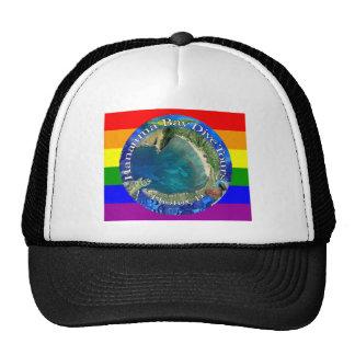 Hanauma Bay Dive Tours Rainbow Cap Trucker Hat