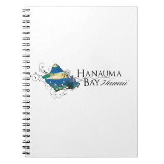 Hanauma Bay Hawaii - 2014 Vacation Spiral Notebook