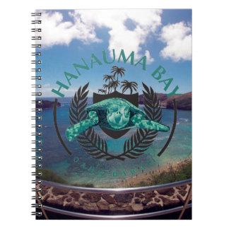 Hanauma Bay Hawaii - 2015 Vacation Spiral Notebook