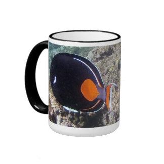 Hanauma Bay Hawaii - Achilees Tang Fish Ringer Mug