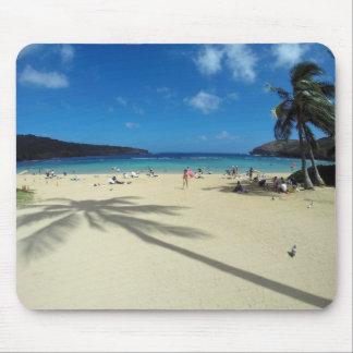Hanauma Bay Hawaii Beach Mouse Pad