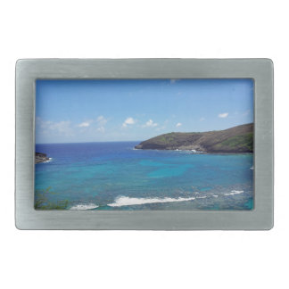 Hanauma Bay Hawaii Belt Buckle