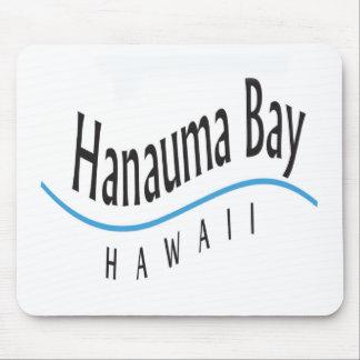 Hanauma Bay Hawaii Blue Wave Mousepads
