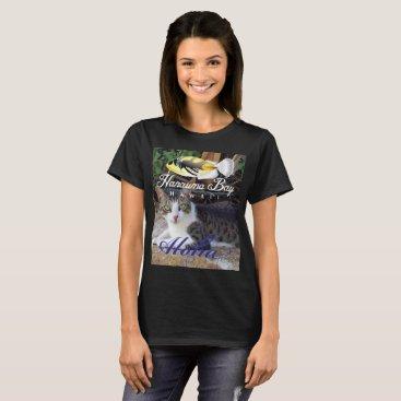 Hawaiian Themed Hanauma Bay Hawaii Cat T-Shirt