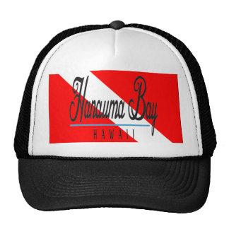 Hanauma Bay Hawaii Dive Flag Trucker Hat