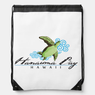 Hanauma Bay Hawaii Drawstring Bag