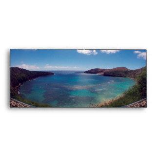Hanauma Bay Hawaii Envelope