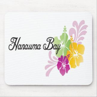 Hanauma Bay Hawaii Flowers Mousepads