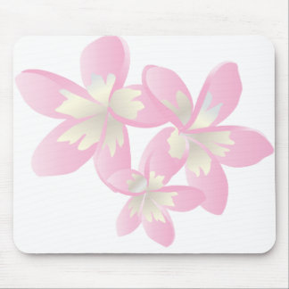Hanauma Bay Hawaii Flowers Mousepad