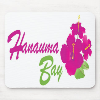 Hanauma Bay Hawaii Flowers Mouse Pad