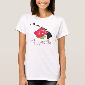 Hanauma Bay Hawaii Flowers T-Shirt