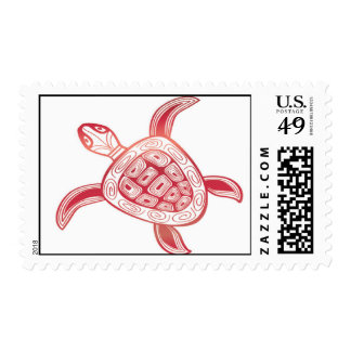 Hanauma Bay Hawaii Green Sea Turtle Stamp