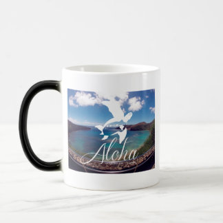 Hanauma Bay Hawaii Honu Turtle Magic Mug