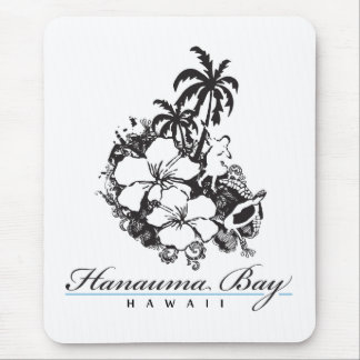 Hanauma Bay Hawaii Honu Turtle Mouse Pad