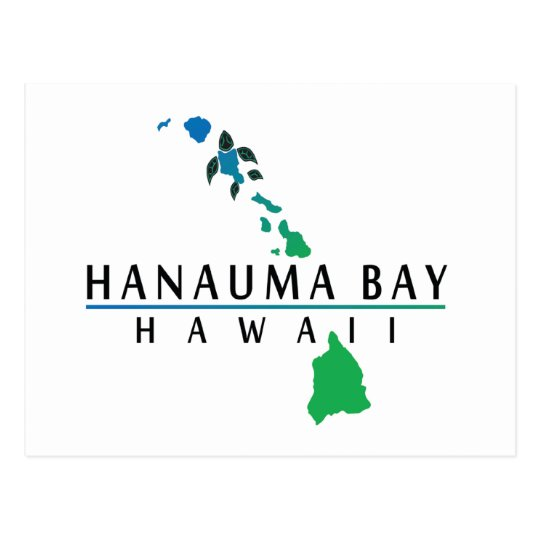 Hanauma Bay - Hawaii Islands Postcard