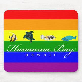 Hanauma Bay Hawaii Islands Turtle Mousepad